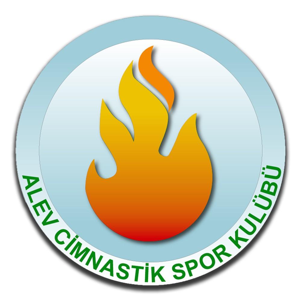 Alev Cimnastik Spor Kulübü Logo Tasarımı