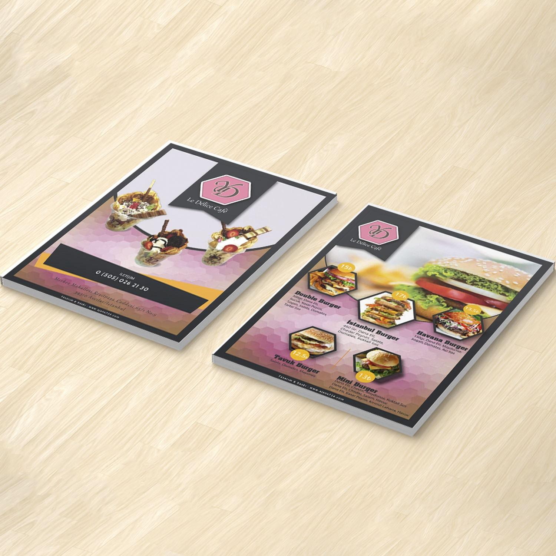 pembe desenli el ilanı tasarımları
