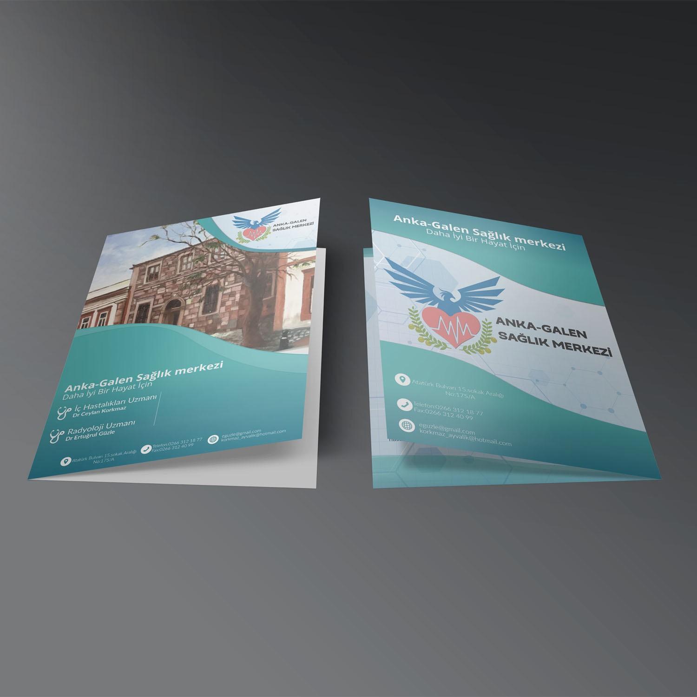 Anka Galen Sağlık Merkezi Katalog Tasarımı