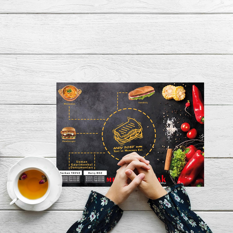 Masaüstü Menü Tasarımı