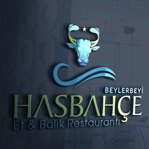 Hasbahçe Restoran Logo Tasarımı