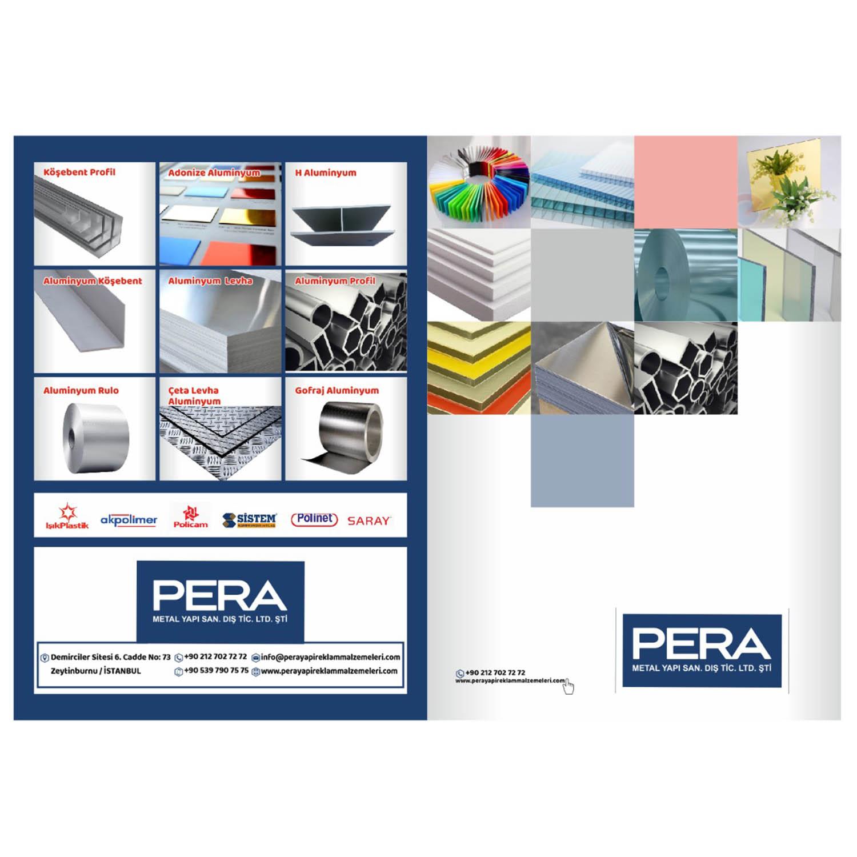 Katalog kapağı tasarımı.