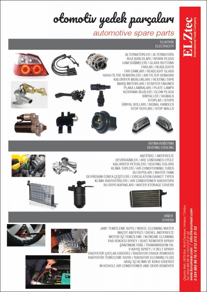 Elztec İş Makineleri Katalog Tasarımı