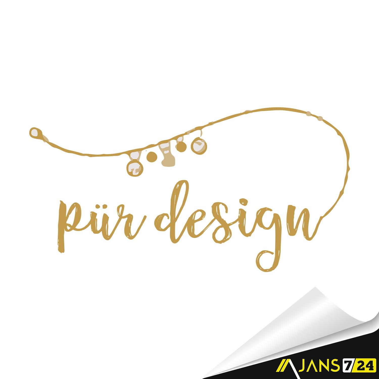 Pürdesign Gümüş Takı Ürünleri Logo Tasarımı