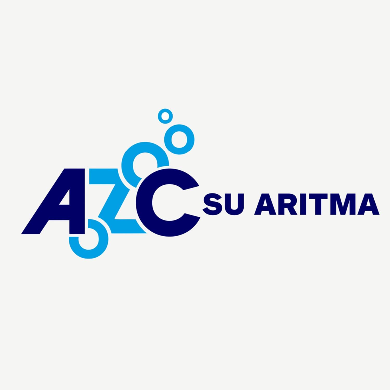 AZC su arıtma firmasına logo tasarımı çalışmamız.